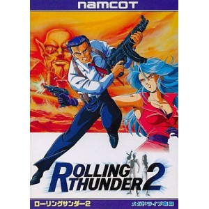 Rolling Thunder 2 [MD - Used Good Condition]