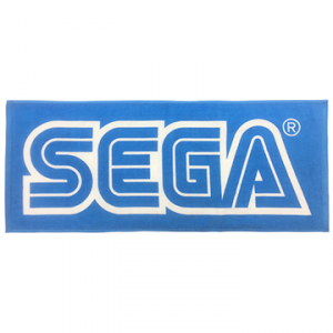 SEGA LOGO Face Towel - Tokyo Game Show 2019 Limited Edition [Goods]