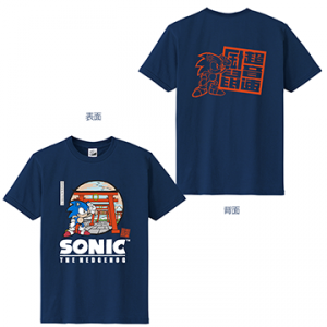 Sonic 5th Tshirt - Tokyo Game Show 2019 Limited Edition [Goods]