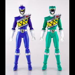 Zyuden Sentai Kyoryuger - Kyoryu Blue & Kyoryu Green Set (Limited Edition) [SH Figuarts] [Used]