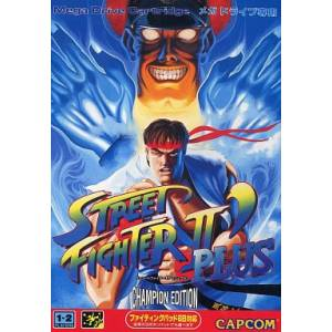 Street Fighter II' Plus - Champion Edition [MD - occasion BE]
