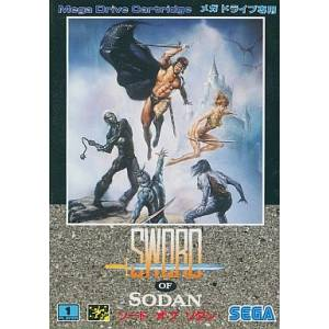Sword of Sodan [MD - Used Good Condition]