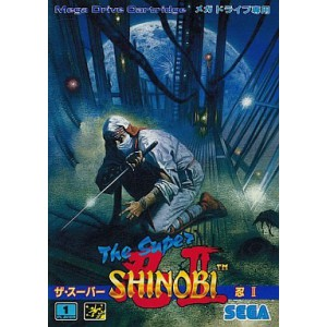 The Super Shinobi II [MD - Used Good Condition]