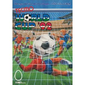 Tecmo World Cup '92 [MD - Used Good Condition]