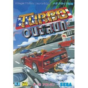 Turbo OutRun [MD - Used Good Condition]