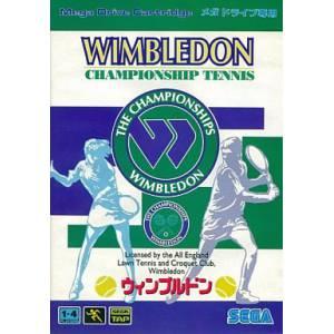 Wimbledon Championship Tennis [MD - Used Good Condition]