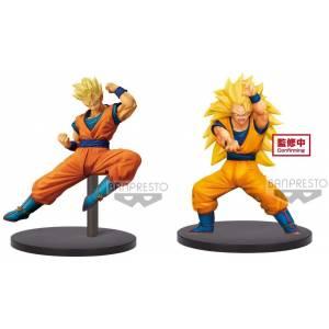 Dragon Ball Super - Chousenshi Retsuden - Vol.4 - Super Saiyan Son Gohan and Son Goku [Banpresto] [Used]
