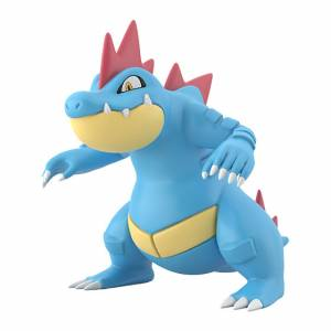 Pokemon Scale World Johto Region Feraligatr [Bandai]