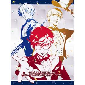 PERSONA SUPER LIVE P-SOUND STREET 2019 - Atlus D Shop First Press Limited editon [OST/ Goods]
