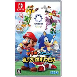 Mario & Sonic AT Tokyo 2020 Olympics (English Included) [Switch]