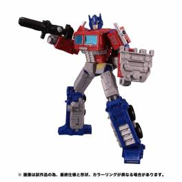 Transformers Earthrise ER-02 Optimus Prime with Trailer [Takara Tomy]
