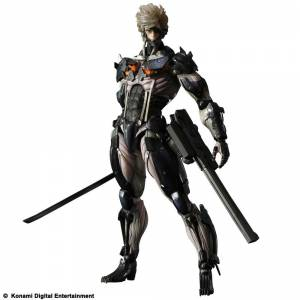 Metal Gear Solid Rising Revengeance - Raiden (Custom Body Yellow) [Play Arts Kai]