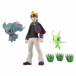 Pokemon Scale World Johto Region Morty (Matsuba) & (Misdreavus) Muma & Celebi Limited Set [Bandai]