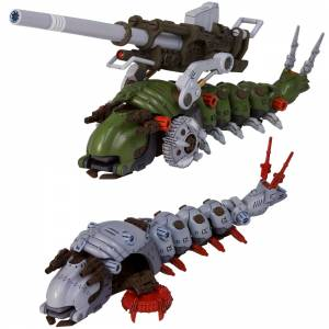 HMM ZOIDS 1/72 EMZ-15 Molga & Molga (Canory Unit Equipped Type) Plastic Model [Kotobukiya]