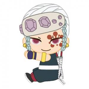 Pitatto Mascot Kimetsu no Yaiba 08 Tengen Uzui [Goods]