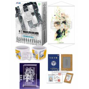 13 Sentinels: Aegis Rim - Famitsu DX Pack 3D Crystal Set [PS4]