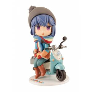 Yuru Camp Rin Shima Mini Figure [Plum]