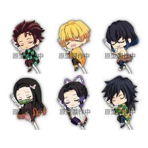 Kimetsu no Yaiba Snoozing on the Cable vol.1 6 Pack BOX [Goods]