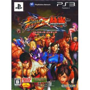 Street Fighter X Tekken - Collector's Package [PS3 - Used Good Condition]