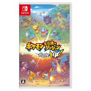 Pokemon Mystery Dungeon: Rescue Team DX - Standard Edition (Multi Language) [Switch]