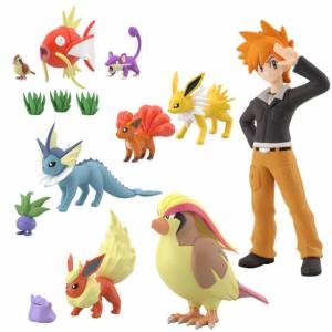Pokemon Scale World Kanto 2 10 Pack BOX [Bandai]