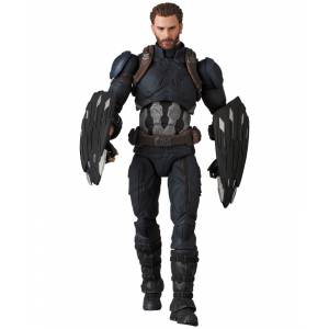 MAFEX CAPTAIN AMERICA (INFINITY WAR Ver.) [Mafex No.122]