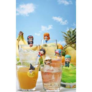 Ochatomo Series ONE PIECE Pirates Tea Time 8 Pack BOX [MegaHouse]