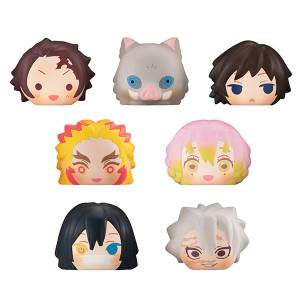 FukaFuka Squeeze Bread Kimetsu no Yaiba / Demon Slayer Vol.2 8 Pack Box [Megahouse]