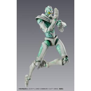 Super Action Statue Hierophant Green JoJo's Bizarre Adventure - Reissue [Medicos Entertainment]