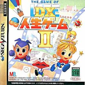 Jinsei Game DX 2 - The Game of Life [SAT - Used Good Condition]