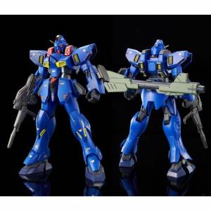 RE/100 1/100 LM111E02 Gun Ez Ground Type (BlueBird Team Color) Limited Plastic Model [Bandai]