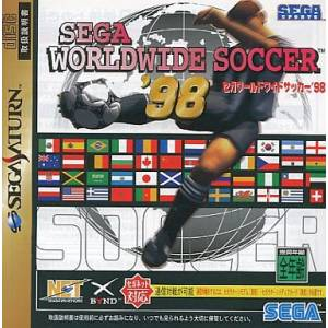 Sega Worldwide Soccer '98 [SAT - Used Good Condition]