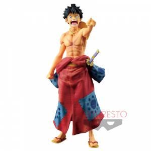 World Figure Colosseum - Monkey. D Luffy - Modeling King Summit Battle 2 SPECIAL - One Piece [Banpresto] [Used]