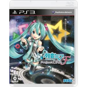 Hatsune Miku - Project Diva F [PS3 - Used Good Condition]
