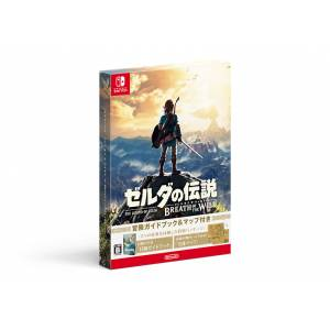Zelda no Densetsu - Breath of the Wild (Adventure Guide Book & Map Special Pack) [Switch - Used]