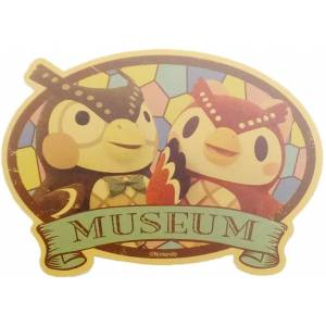 Travel Sticker Animal Crossing Museum [Goods]