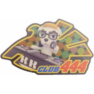 Travel Sticker Animal Crossing CLUB444 [Goods]