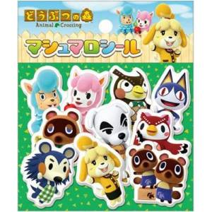 Animal Crossing Marshmallow Sticker (Set of 10) [Goods]