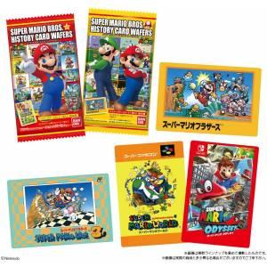 Super Mario Brothers History Card Wafer 20 Pack BOX [Bandai]
