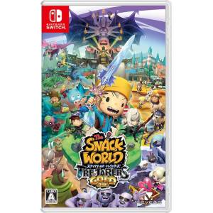 The Snack World Trejarers Gold / Snack World - The Dungeon Crawl - Gold [Switch - Used]