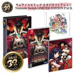 Samurai Spirits (Samurai Shodown) Neo Geo Collection Nintendo Switch LIMITED EDITION PACK [Switch]