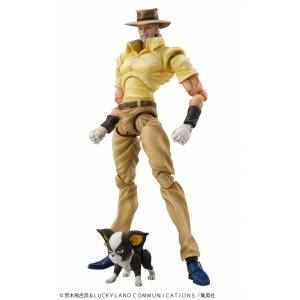 Super Action Statue Joseph Joestar & Iggy JoJo's Bizarre Adventure  [Medicos Entertainment]