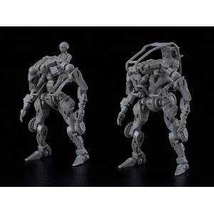 MODEROID OBSOLETE 1/35 Multi-Purpose EXOFRAME (Gray) Plastic Model [Moderoid]
