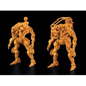 MODEROID OBSOLETE 1/35 Multi-Purpose EXOFRAME (Yellow) Plastic Model [Moderoid]