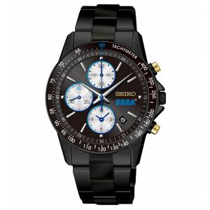 SEGA × SEIKO 60th Anniversary Model (Black) Watch  [Goods]