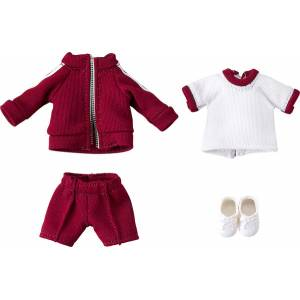 Nendoroid Doll: Outfit Set (Gym Clothes - Red) [Good Smile Company]