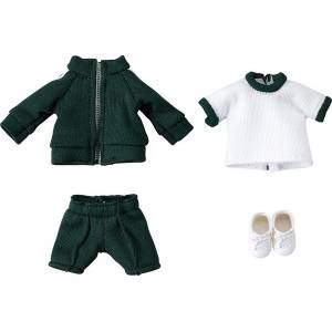 Nendoroid Doll: Outfit Set (Gym Clothes - Green) [Good Smile Company]