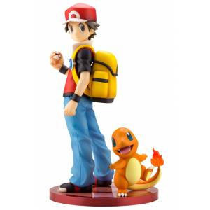 ARTFX J Red with Charmander Pokemon Series [Kotobukiya]