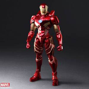 Marvel Universe Variant Bring Arts DESIGNED BY TETSUYA NOMURA Iron Man [Square Enix]