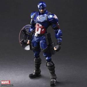 Marvel Universe Variant Bring Arts DESIGNED BY TETSUYA NOMURA Captain America [Square Enix]